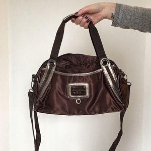 Brown Roots Handbag / Crossbody Bag